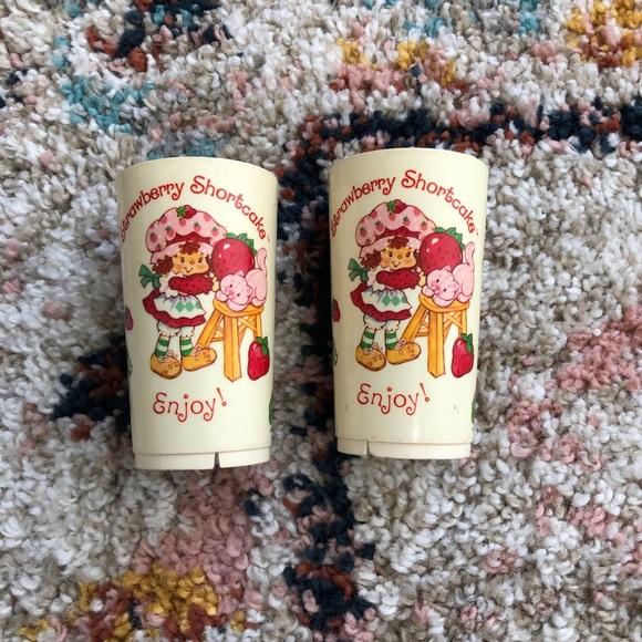Toys Vintage Strawberry Shortcake Play Kitchen Toy Cup Poshmark